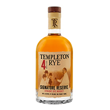 Templeton Rye 4 Years Old (40% vol.)